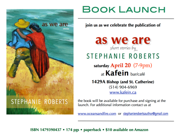 as we are book launch invite facebook